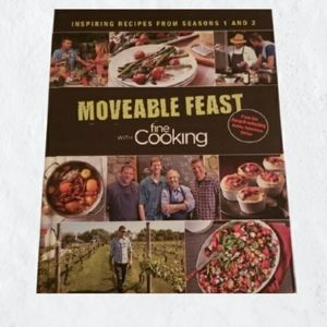 "Book ""Moveable Feast with fine Cooking"" Inspiring"